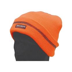Bonnet tricot fluo